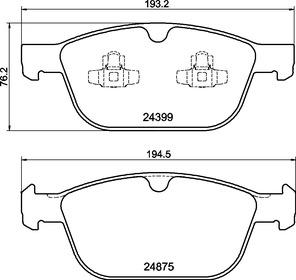 P86023N Disc Brake Pad Set