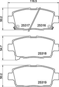 P99004N Disc Brake Pad Set